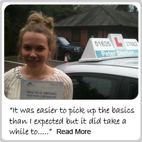 driving lessons newbury - testimonials