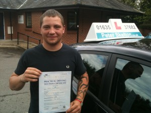 ashley pearce - newbury - 1st time pass