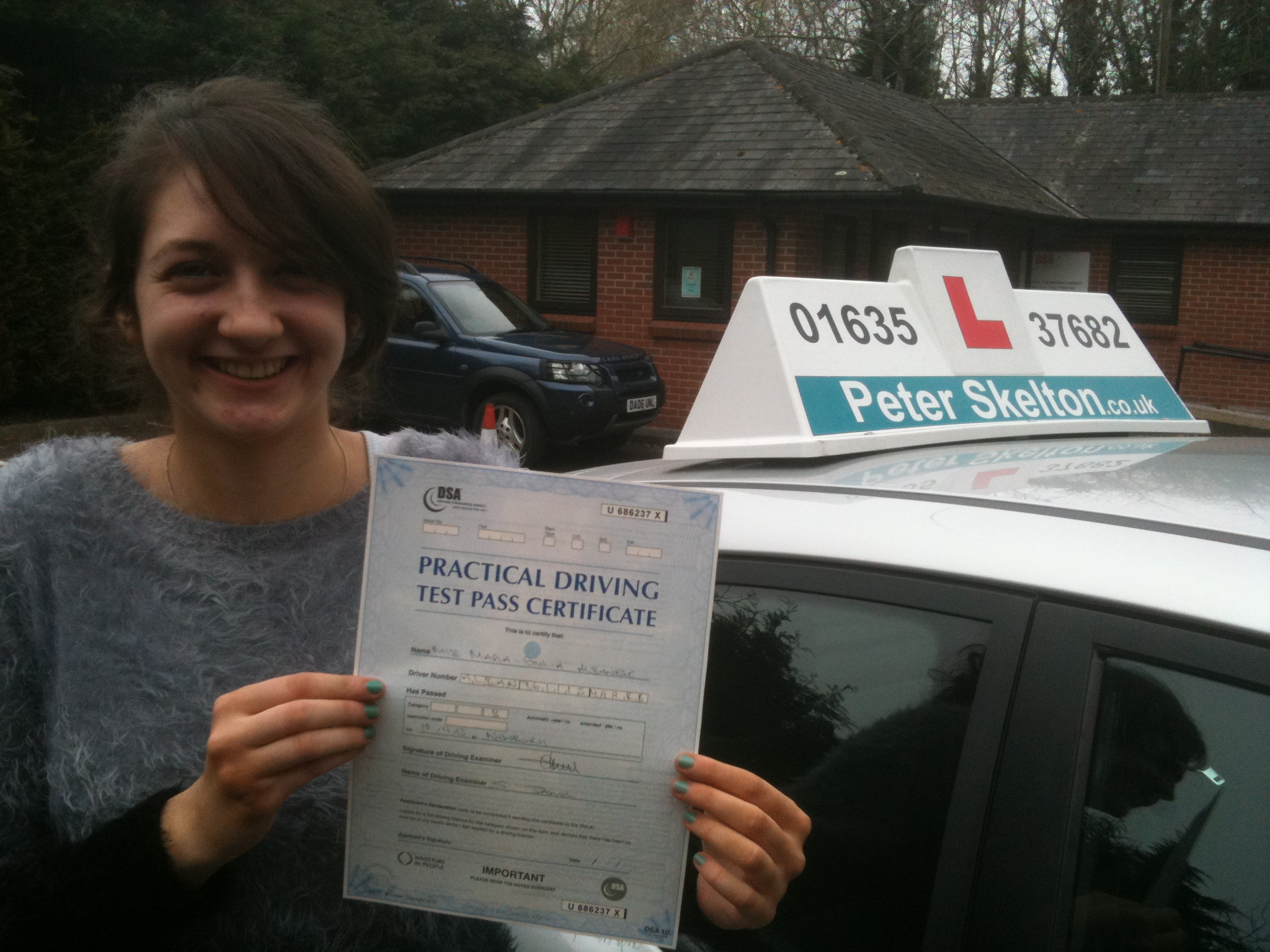 driving lessons thatcham - maria albanese