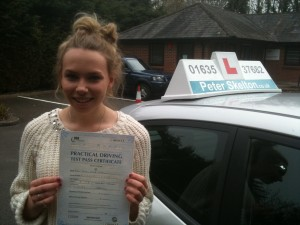 driving lessons Newbury - Nancy Morgan