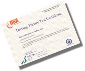 theory test pass - James Naylor