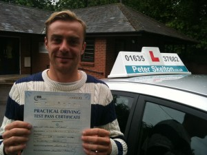 Driving Lessons Newbury - James Naylor - 1st time pass