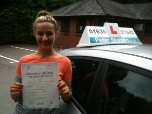 Driving Lessons Newbury - Ellie Bennett - First time pass