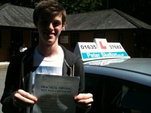 George Pitt - Driving School Newbury