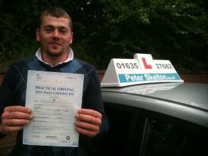 Driving Lessons Thatcham - Daniel Clark - 1st time pass