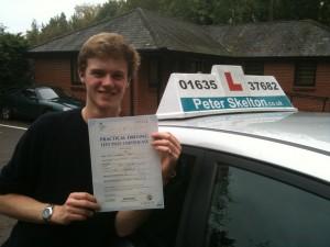 Charlie Peat - Driving School Newbury
