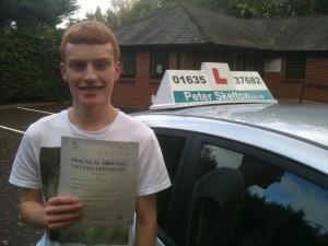 Freddie Barnes - driving lessons Newbury