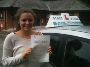 Driving School Newbury - Liv Skarin-Smith