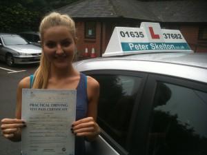 Driving Instructor Newbury - Naomi Doran