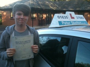 Kurtis Archer - driving lessons newbury