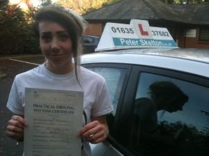 Lauren Prizeman - driving school newbury