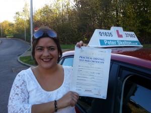 Michelle Godfrey - driving instructor Newbury