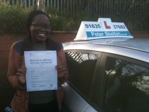 Driving School Newbury - Ethel Nzombe