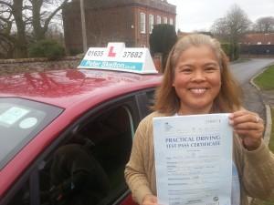 Tess Delavin - Driving School Newbury