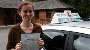 driving lessons newbury - eleanor huckle