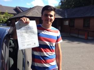 driving school Newbury - Barnaby Omar