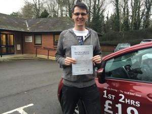 Drivign Lessons Newbury- Tom Hope