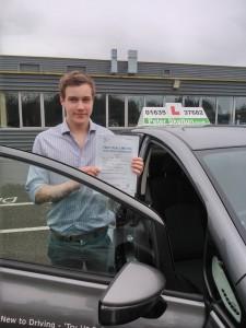 Driving School Newbury - Toby Fenna