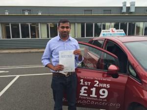 Driving Lessons Newbury - Manoj Jose