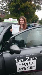 Driving Lessons Newbury - Ellena Burnard