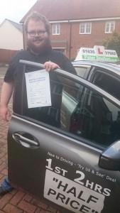 Driving School Newbury - Jamie Tarn