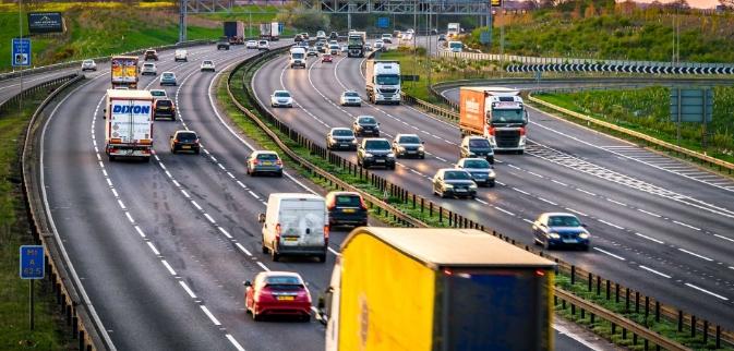 Anxious Drivers Motorway Driving