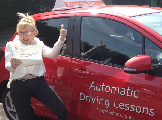 Automatic Driving Lessons - Julie Jolly